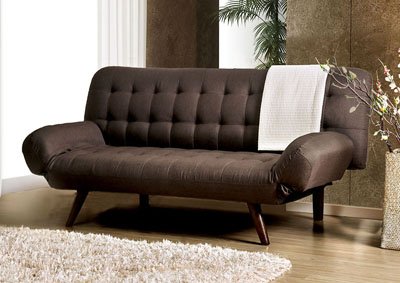 Gulbrand Brown Futon Sofa