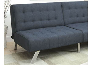 Arielle Dark Blue Futon Sofa