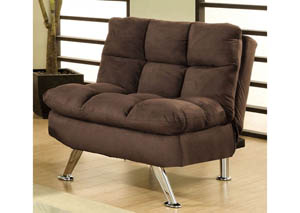 Cocoa Beach Brown Elephant Skin Microfiber Chair
