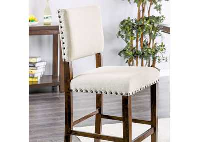 Glenbrook Linen Counter Height Chair (Set of 2)