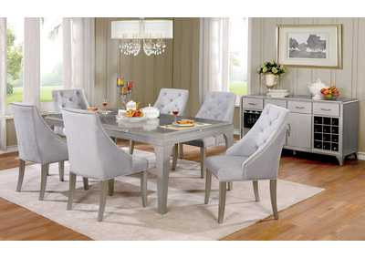 Diocles Silver Dining Table