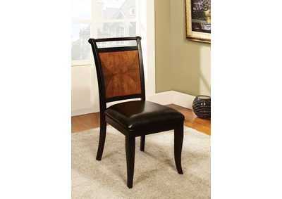 Salida l Black & Acacia Side Chair (Set of 2)