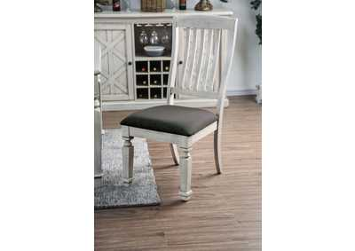 Image for Georgia Antique White Side Chair (2/Ctn)