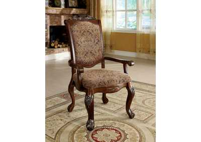 Cromwell Antique Cherry Arm Chair (Set of 2)
