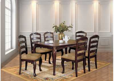"Image for Townsville 60"" Dining Table w/4 Side Chair"