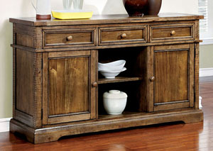 Dickey Medium Oak Server