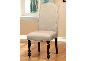 Hurdsfield Linen Upholstered Side Chair (Set of 2)