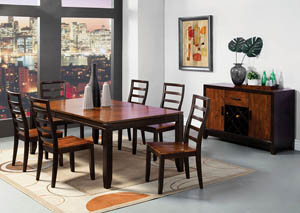 San Isabel l Dining Table w/18