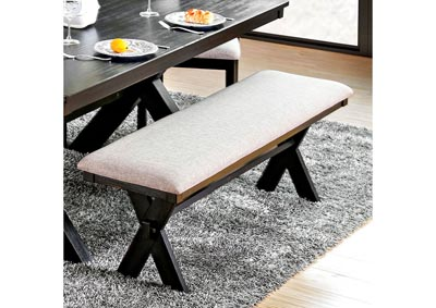 Xanthe Black Dining Bench