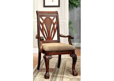 Image for Petersburg l Cherry Arm Chair (Set of 2)