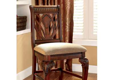 Petersburg l Cherry Counter Height Chair (Set of 2)