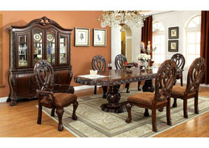 Image for Wyndmere Cherry Dining Table w/4 Side Chair & 2 Arm Chair