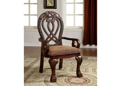 Wyndmere Cherry Arm Chair (Set of 2)