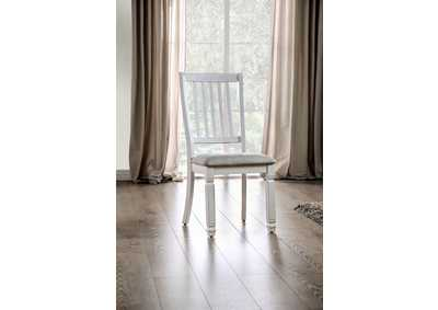 Kaliyah White Side Chair (Set of 2)