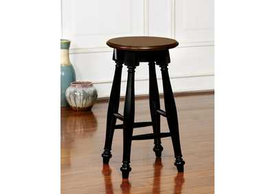 Image for Sabrina Cherry and Black Counter Height Stool (Set of 2)