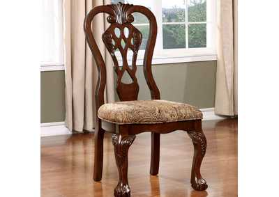Image for Elana Cherry Side Chair (Set of 2)