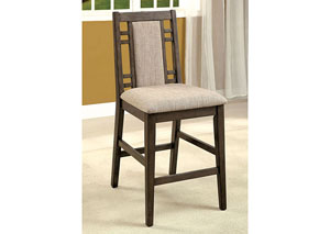 Eris II Gray Counter Height Chair (Set of 2)