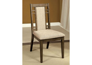Image for Eris l Gray Side Chair (Set of 2)