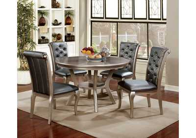 Anima Champagne Round Dining Table