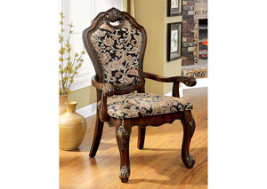 Vicente Cherry Arm Chair (Set of 2)