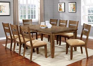 Broadway Furniture Ava Light Oak Dining Table W 18 Leaf