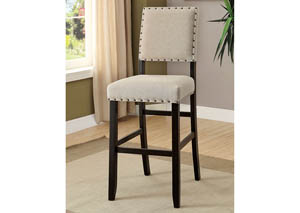 Sania II Antique Black Bar Chair (Set of 2)