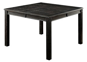 Image for Sania III Antique Black Counter Height Table