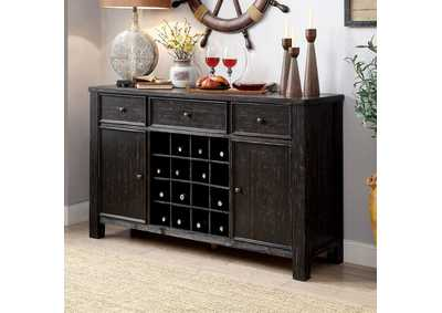 Sania I Antique Black Server