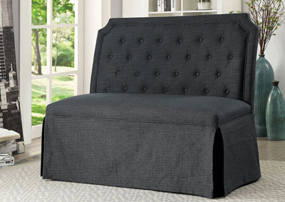 New Ross Gray Loveseat