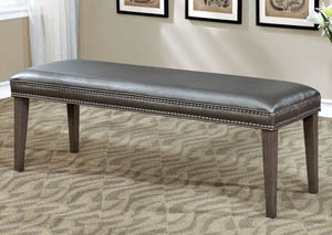 Sturgis Dark Gray Bench