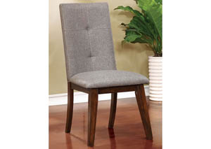 Abelone Walnut Side Chair (Set of 2)