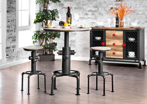 Foskey Natural Bar Table