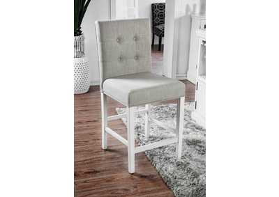 Sutton Antique White Counter Height Chair (Set of 2)