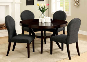 Downtown I Espresso Side Chair (Set of 2)