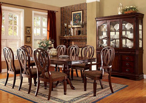 Harwinton Cherry Dining Table w/2 Arm Chairs and 6 Side Chairs