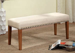 Walsh Fabric Bench w/Nailhead Trim