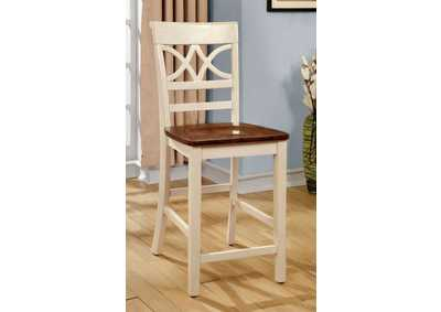 Image for Torrington II White Counter Height Chair (Set of 2)