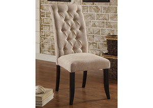 Marshall Ivory Fabric Side Chair (Set of 2)