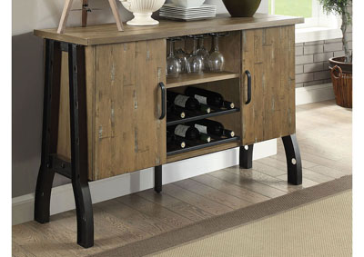 Image for Kirstin Rustic Oak Server