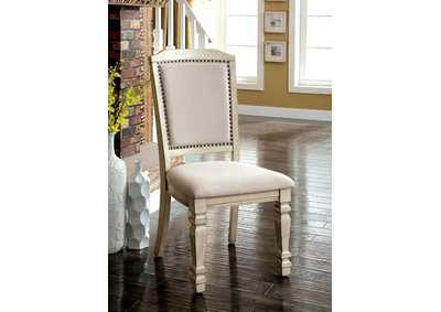 Holcroft Antique White Side Chair (Set of 2)