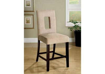 Image for West Palm ll Upholstered Counter Height Chair (Set of 2)