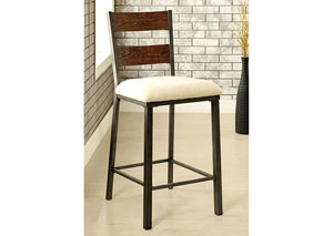 Jazlyn II Weathered Oak Counter Height Chair