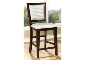 Garrison II Espresso Counter Height Chair (Set of 2)