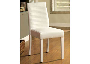 Levna White Side Chair (Set of 2)