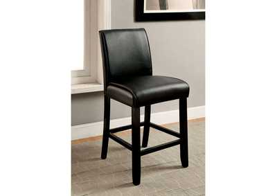 Gladstone ll Black Counter Height Chair (Set of 2)