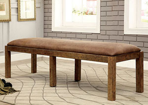 Gianna Rustic Pine Bench