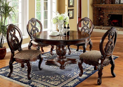 Tuscany I Antique Cherry Formal Dining Table