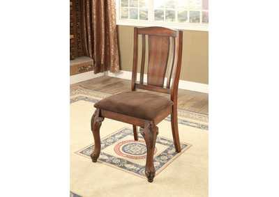 Image for Johannesburg I Brown Cherry Side Chair (Set of 2)