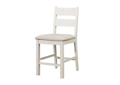 Glenfield Weathered White Counter Height Chair (Set of 2)