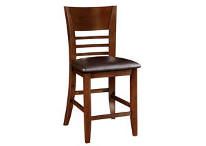 Hillsview I Brown Cherry Counter Height Chair (Set of 2)